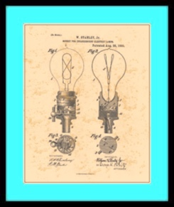 light bulb patent drawing