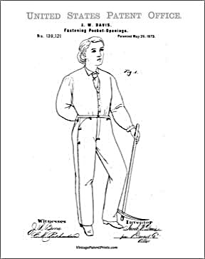 First Jean Patent Drawing