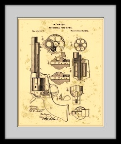 Firearm patent drawing prints firearm patent drawing malvernweather Images