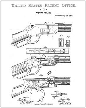 Winchester 1866 Patent