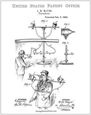 Topophone Patent Drawing