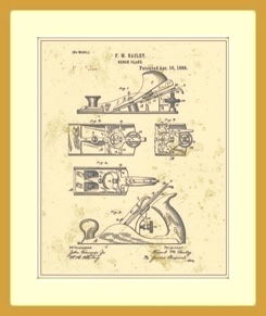 Hand Plane Patent Drawing
