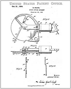 skilsaw patent drawing